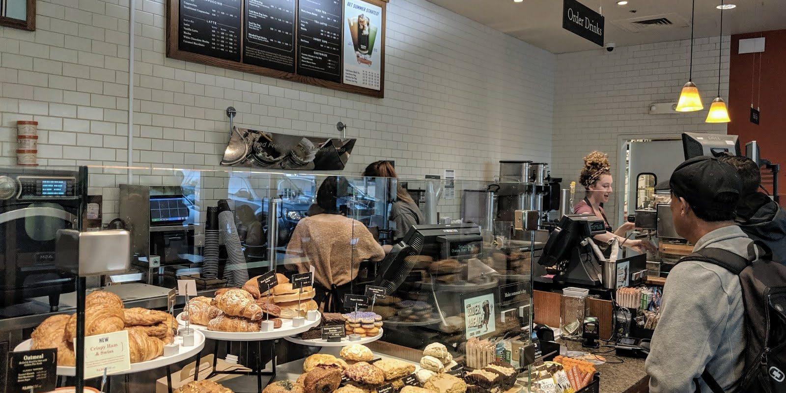 Peets Novato Redwood Boulevard Novato California coffee tea smoothie breakfast Novato Chamber member