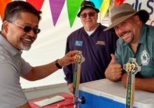 Sandeep Moylan Festival of Art Wine and Music Novato Chamber Marin Brew Co